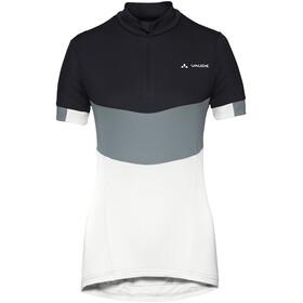VAUDE Advanced III maglietta a maniche corte Donna bianco/nero